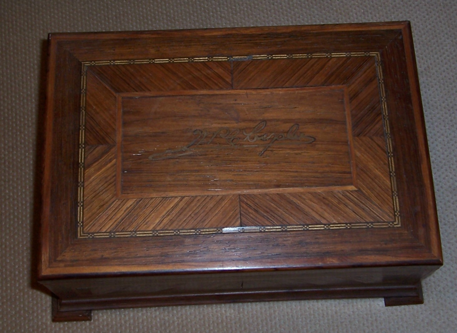 WPC Personal Wooden Box